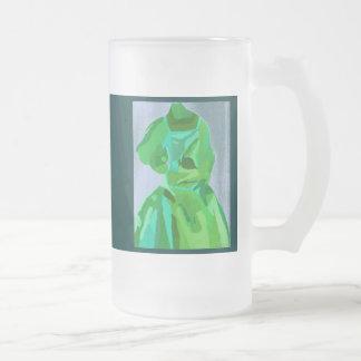 Fashionista de diva en été mug en verre givré