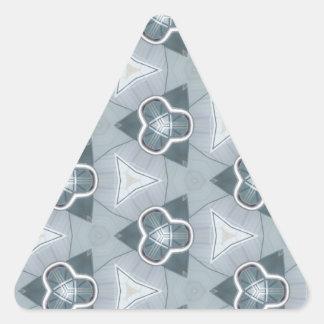 Fashionista en acier 1 sticker triangulaire