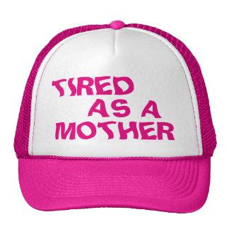 Fatigué en tant que mère casquette de camionneur