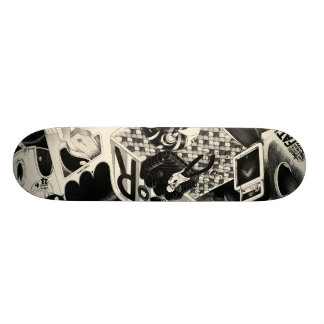 fatigue skateboard 21,6 cm