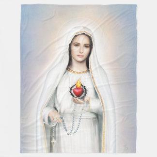Fatima, couverture impeccable d'ouatine du coeur