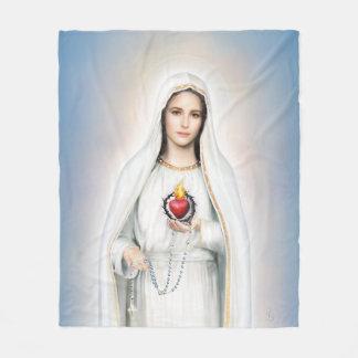 Fatima, couverture moyenne d'ouatine de coeur