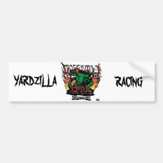 Faucheuse rouge de Yardzilla aucun logo Autocollant De Voiture