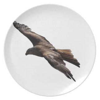 faucon assiettes en mélamine