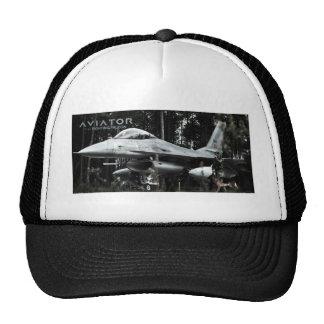 Faucon de combat de F-16 d'aviateur Casquettes