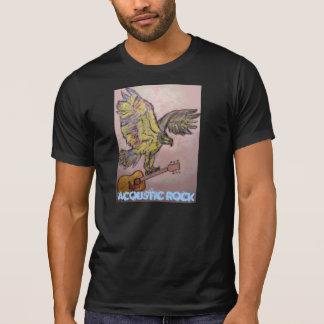 Faucon de poissons acoustique (roche acoustique) t-shirts