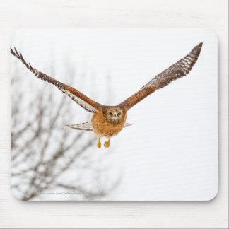Faucon en vol tapis de souris
