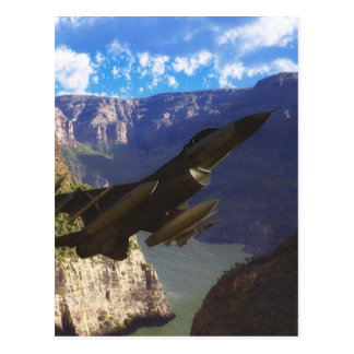 Faucon F-16 de combat Carte Postale