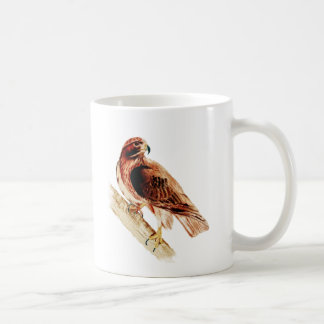 Faucon rouge de queue mug