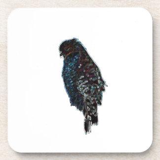 Faucon Rouge-Épaulé artistique Dessous-de-verre