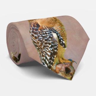 Faucon Rouge-Épaulé Cravates Personnalisées
