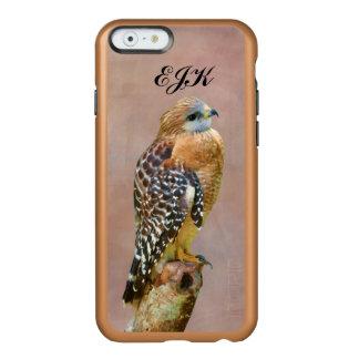 Faucon Rouge-Épaulé, monogramme Coque iPhone 6 Incipio Feather® Shine