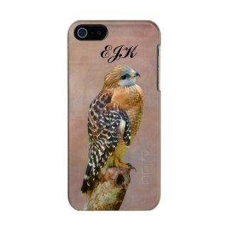 Faucon Rouge-Épaulé, monogramme Coque iPhone 5 Incipio Feather® Shine