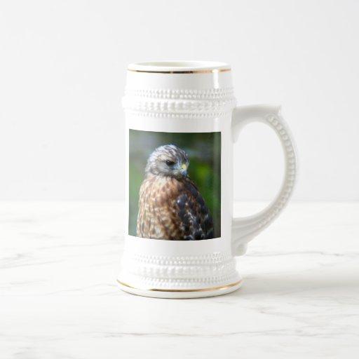 Faucon Rouge-Épaulé Tasse À Café