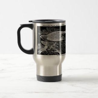 """Faucons en silhouette "" Mug De Voyage"