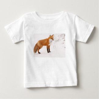 Faune de nature de Fox rouge T-shirt Pour Bébé
