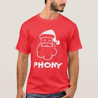 FAUX anti T-shirt de Noël du père noël |