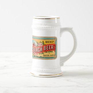 Faux plastron de la bière de bouleau JB, Newton le Chope À Bière
