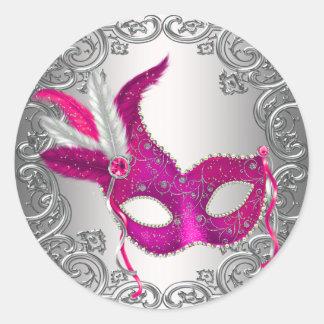 Faveur de joint d'enveloppe de mascarade de masque adhésifs ronds