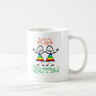 Faveurs lesbiennes de mariage mug
