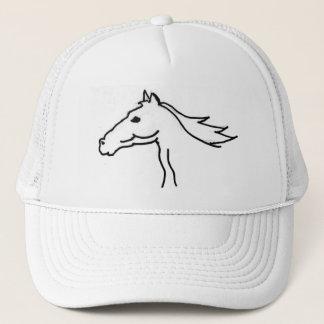 FB casquette de dessin de silhouette de cheval