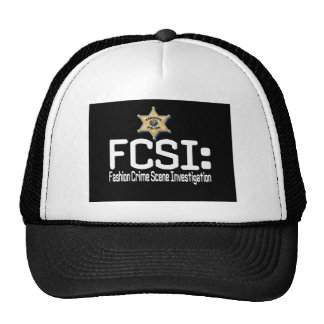 FCSI :  Enquête de scène du crime de mode Casquettes De Camionneur