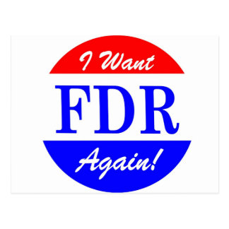 FDR - Le plus grand Président Tribute de Cartes Postales