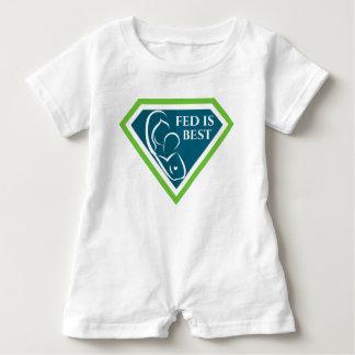 Fed original est la meilleure barboteuse de bébé