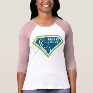 Fed original est la meilleure chemise de raglan de t-shirt