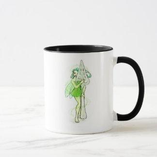 Fée avec la cuillère d'absinthe mug