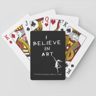 Fée d'art : Je crois en valeur promotionnelle Jeux De Cartes