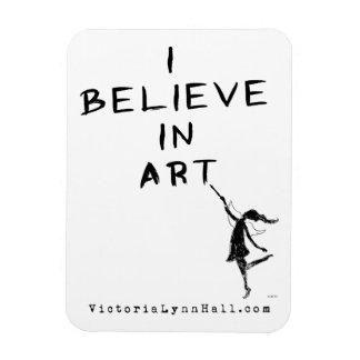 Fée d'art : Je crois en valeur promotionnelle Magnet Rectangulaire Avec Photo