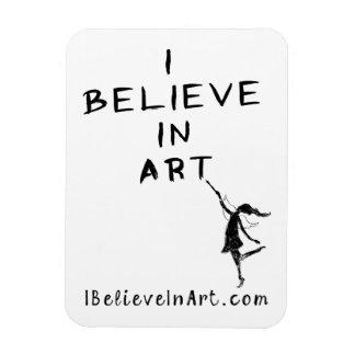 Fée d'art : Je crois en valeur promotionnelle Magnet Souple