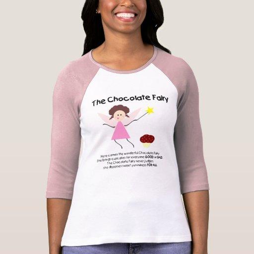 Fée de chocolat t-shirts