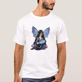 Fée de filles et T-shirt de dragon