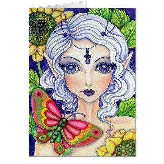 Fée de papillon * sa dissimulation *   carte