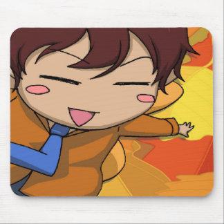 Fée de vol de garçon de Manga Tapis De Souris