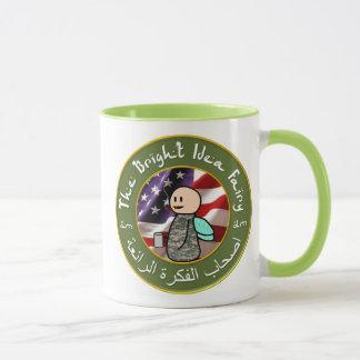 Fée d'idée/tasse de café lumineuses de club cigare mug