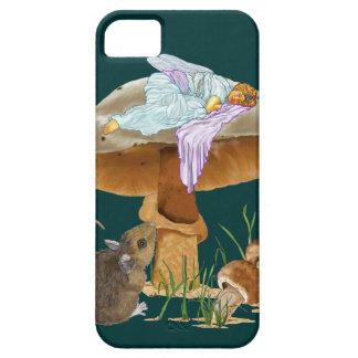 Fée et souris de champignon iPhone 5 case