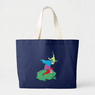 Fée fairy grenouille frog sac