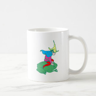 Fée fairy grenouille frog tasses à café