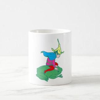 Fée fairy grenouille frog tasses