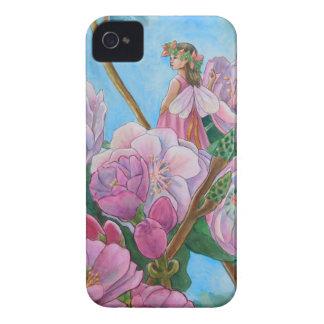 Fée parmi les fleurs de cerisier coque Case-Mate iPhone 4