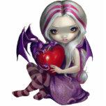 Fée PhotoSculpture de dragon de Valentine Découpages En Acrylique