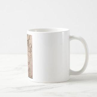 Fée sur un champignon mug