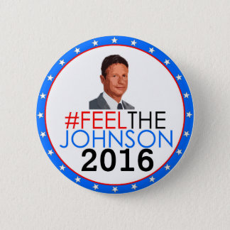 #feelthejohnson Gary Johnson 2016 Pin's