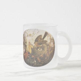 Féeries de ressort et tasse de Robin