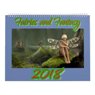 Fées et calendrier de l'imaginaire 2018