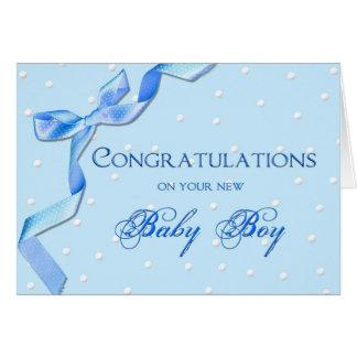 Félicitations - bébé carte de vœux