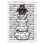 Félicitations - couples gais de mariage cartes de vœux